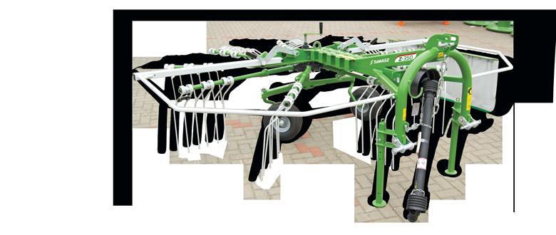 Single rotor rakes Z 3-Point